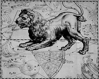 Leo Constellation, by Hevelius.