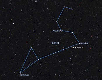 The Leo constellation.